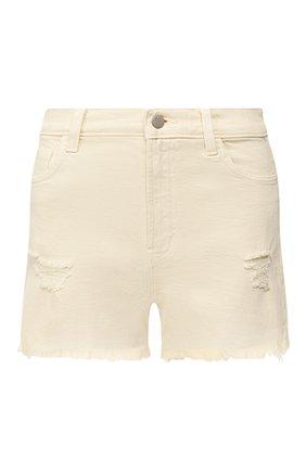 Женские джинсовые шорты J BRAND бежевого цвета, арт. JB002787 | Фото 1