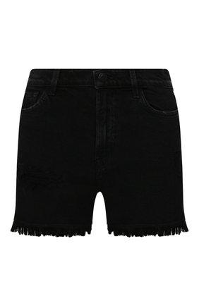 Женские джинсовые шорты J BRAND черного цвета, арт. JB002787/B | Фото 1