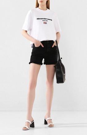 Женские джинсовые шорты J BRAND черного цвета, арт. JB002787/B | Фото 2