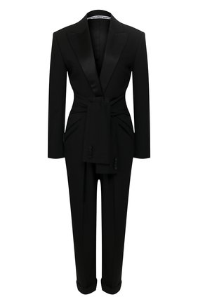 Женский комбинезон ALEXANDER WANG черного цвета, арт. 1WC1207064 | Фото 1
