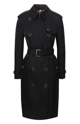 Женский тренч oban BURBERRY черного цвета, арт. 8026489 | Фото 1