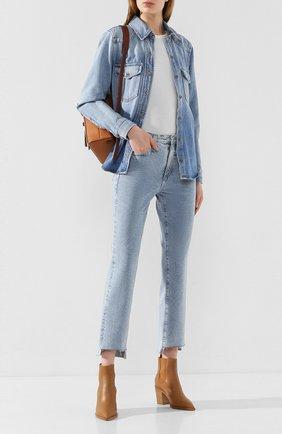 Женские джинсы AG голубого цвета, арт. VBS1753US/92PRIM | Фото 2