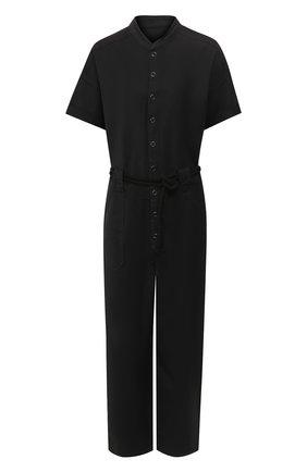 Женский хлопковый комбинезон AG черного цвета, арт. SWS6197/SULBLK | Фото 1