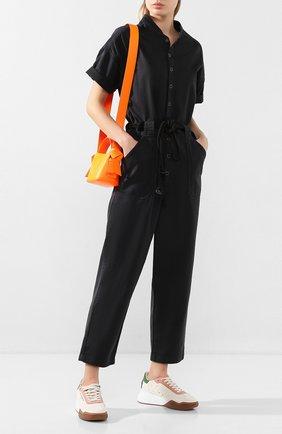 Женский хлопковый комбинезон AG черного цвета, арт. SWS6197/SULBLK | Фото 2