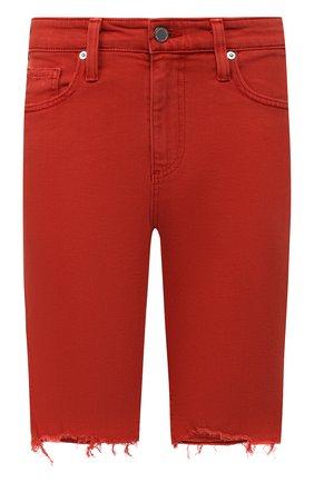 Женские джинсовые шорты AG красного цвета, арт. DSD1982BC/SXCYNR | Фото 1