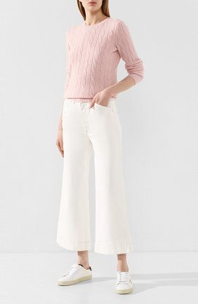 Женские джинсы AG белого цвета, арт. DSD1971/MWHT | Фото 2