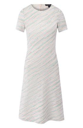 Женское платье ST. JOHN светло-зеленого цвета, арт. K11Z0A2 | Фото 1