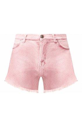 Женские джинсовые шорты TWO WOMEN IN THE WORLD розового цвета, арт. D0NY/YHR4A | Фото 1