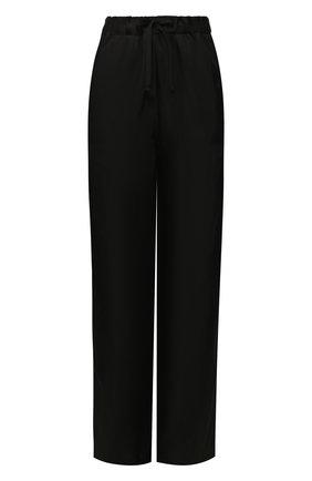 Женские брюки из вискозы ANN DEMEULEMEESTER черного цвета, арт. 2001-1440-138-099   Фото 1