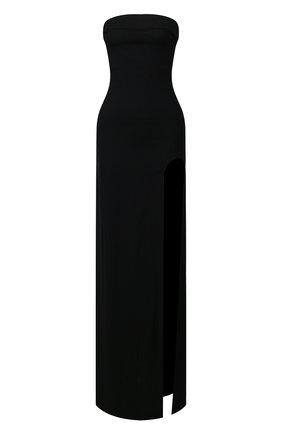 Женское шерстяное платье ANN DEMEULEMEESTER черного цвета, арт. 2001-2366-188-099   Фото 1