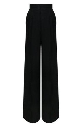 Женские льняные брюки LE KASHA черного цвета, арт. S0HAG00   Фото 1