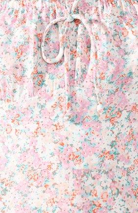 Женское мини-платье FAITHFULL THE BRAND розового цвета, арт. FF1492   Фото 5