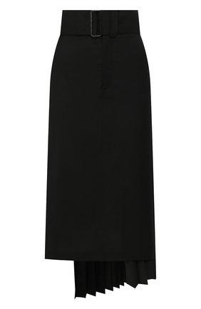 Женская шерстяная юбка HYKE черного цвета, арт. 14082 | Фото 1
