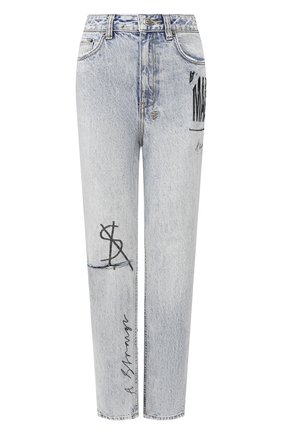 Женские джинсы KSUBI голубого цвета, арт. 5000004664 | Фото 1