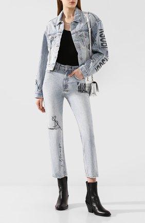 Женские джинсы KSUBI голубого цвета, арт. 5000004664 | Фото 2
