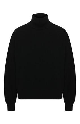 Женская шерстяной свитер ALEXANDERWANG.T черного цвета, арт. 4KC1201053 | Фото 1
