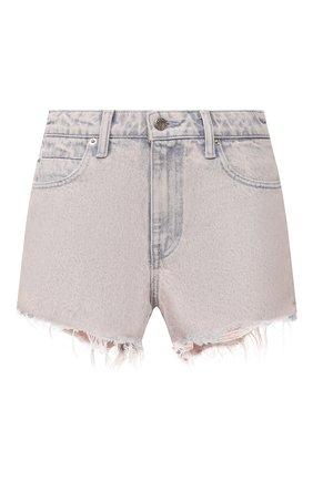 Женские джинсовые шорты DENIM X ALEXANDER WANG розового цвета, арт. 4DC1204552 | Фото 1