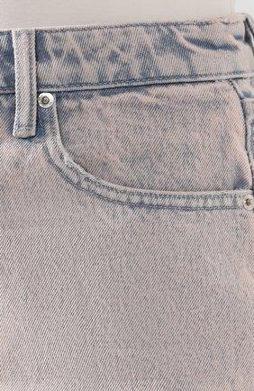 Женские джинсовые шорты DENIM X ALEXANDER WANG розового цвета, арт. 4DC1204552 | Фото 5 (Женское Кросс-КТ: Шорты-одежда; Кросс-КТ: Деним; Длина Ж (юбки, платья, шорты): Мини; Материал внешний: Хлопок; Стили: Кэжуэл)