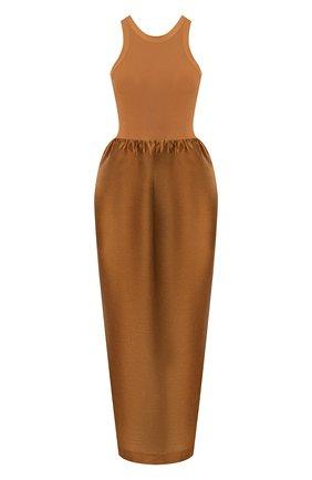 Женское платье TOTÊME коричневого цвета, арт. N0NZA 201-602-714 | Фото 1