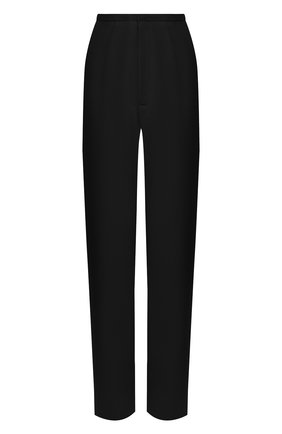 Женские брюки TOTÊME черного цвета, арт. ARLES 202-202-701 | Фото 1