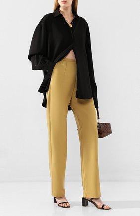 Женские брюки TOTÊME бежевого цвета, арт. ARLES 202-202-701 | Фото 2