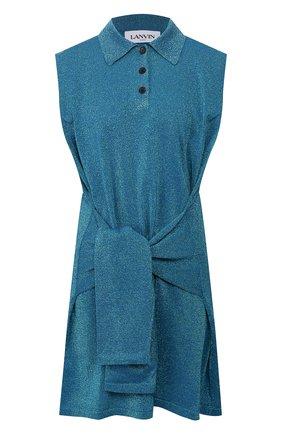 Женское платье LANVIN зеленого цвета, арт. RW-DR396M-MR03-E20 | Фото 1