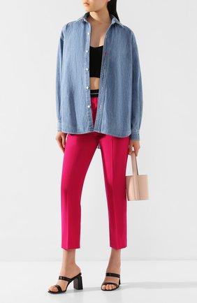 Женская джинсовая рубашка RAG&BONE синего цвета, арт. WCW20SA0194419 | Фото 2