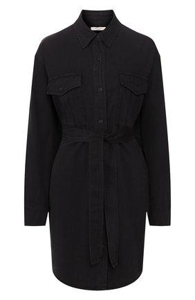 Женское джинсовое платье RAG&BONE черного цвета, арт. WCW20S30274B27 | Фото 1