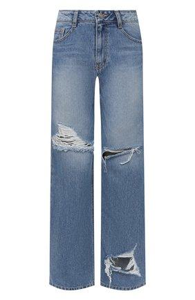 Женские джинсы STEVE J & YONI P синего цвета, арт. PW2A3N-PC159W | Фото 1