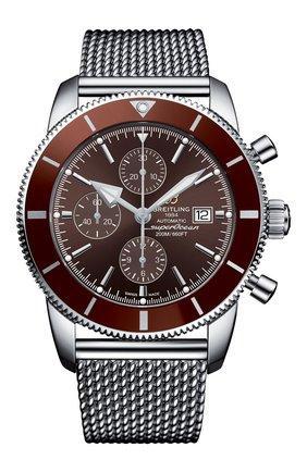 Мужские часы superocean heritage ii chronographe BREITLING коричневого цвета, арт. A1331233/Q616/152A | Фото 1