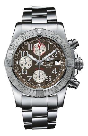 Мужские часы avenger ii steel brown BREITLING коричневого цвета, арт. A1338111/F564/170A   Фото 1