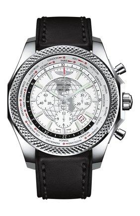 Мужские часы b05 unitime white BREITLING белого цвета, арт. AB0521U0/A768/478X | Фото 1