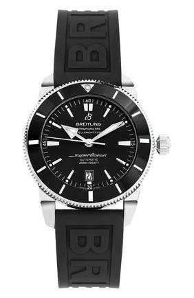 Мужские часы superocean heritage ii BREITLING черного цвета, арт. AB201012/BF73/153S | Фото 1