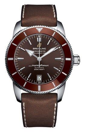 Мужские часы superocean heritage ii BREITLING коричневого цвета, арт. AB201033/Q617/294S   Фото 1