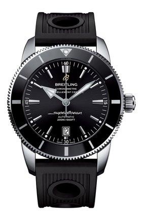 Мужские часы superocean heritage ii BREITLING черного цвета, арт. AB202012/BF74/201S | Фото 1