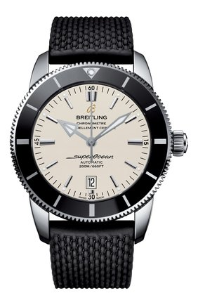 Мужские часы superocean heritage ii BREITLING бежевого цвета, арт. AB202012/G828/256S | Фото 1