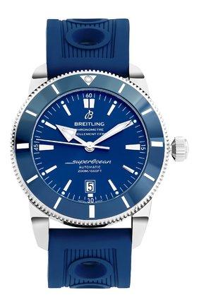 Мужские часы superocean heritage ii BREITLING синего цвета, арт. AB202016/C961/205S | Фото 1
