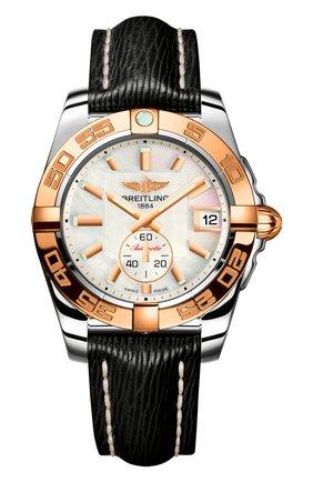 Женские часы galactic 36 automatic BREITLING перламутрового цвета, арт. C3733012/A724/213X | Фото 1