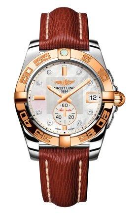 Женские часы galactic 36 automatic BREITLING перламутрового цвета, арт. C3733012/A725/216X | Фото 1