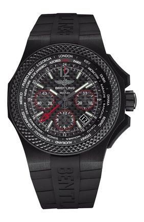 Мужские часы bentley b04 gmt BREITLING черного цвета, арт. NB0434E5/BE94/232S | Фото 1