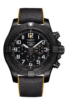 Мужские часы avenger hurricane BREITLING черного цвета, арт. XB0170E4/BF29/257S   Фото 1