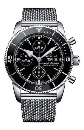 Мужские часы chronograph 44 BREITLING черного цвета, арт. A13313121B1A1 | Фото 1