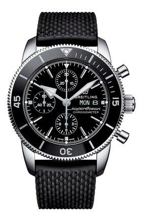 Мужские часы chronograph 44 BREITLING черного цвета, арт. A13313121B1S1 | Фото 1