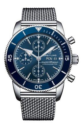 Мужские часы chronograph 44 BREITLING синего цвета, арт. A13313161C1A1 | Фото 1