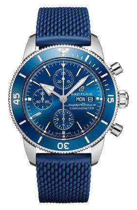 Мужские часы chronograph 44 BREITLING синего цвета, арт. A13313161C1S1 | Фото 1