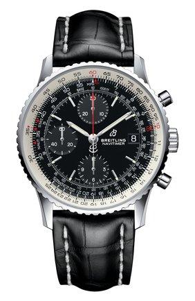 Мужские часы chronograph 41 BREITLING черного цвета, арт. A13324121B1P1 | Фото 1