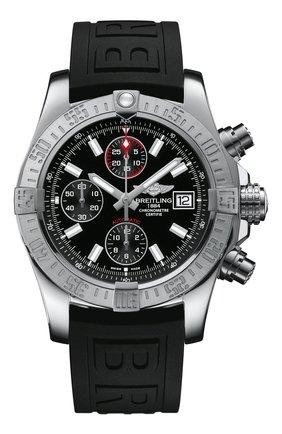 Мужские часы avenger ii BREITLING черного цвета, арт. A13381111B1S1 | Фото 1