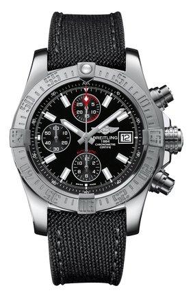 Мужские часы avenger ii BREITLING черного цвета, арт. A13381111B1W1 | Фото 1