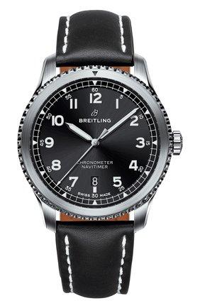 Мужские часы navitimer 8 BREITLING черного цвета, арт. A17314101B1X1   Фото 1