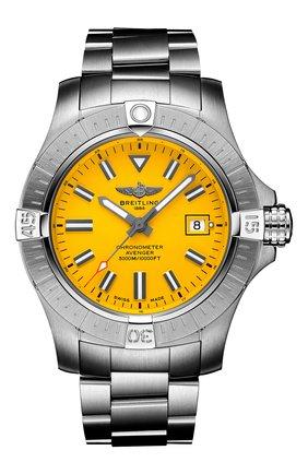 Мужские часы avenger automatic 45 seawolf BREITLING желтого цвета, арт. A17319101I1A1 | Фото 1